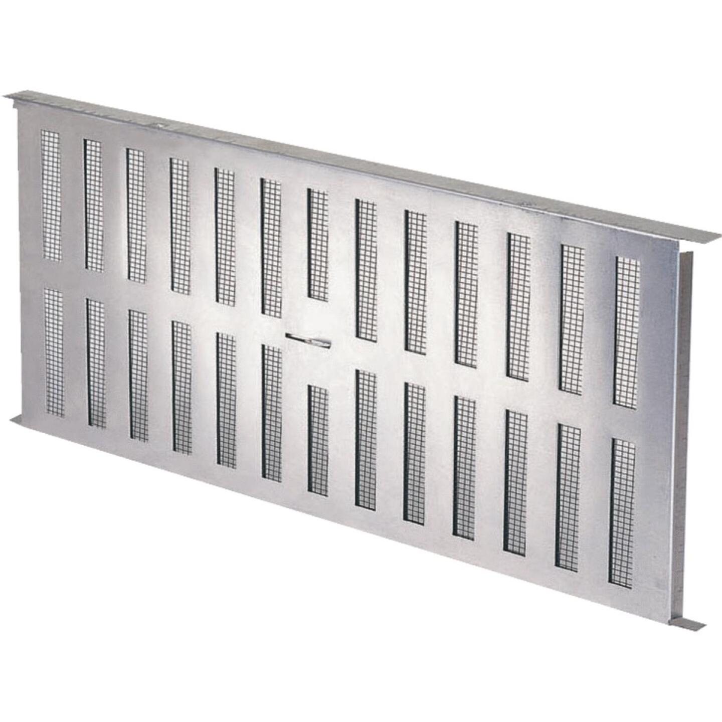 Air Vent 8 In. x 16 In. Aluminum Manual Foundation Vent with Adjustable Sliding Damper Image 3