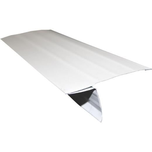 Klauer D5 Galvanized Steel Roof Edge Flashing with Hems, Brown