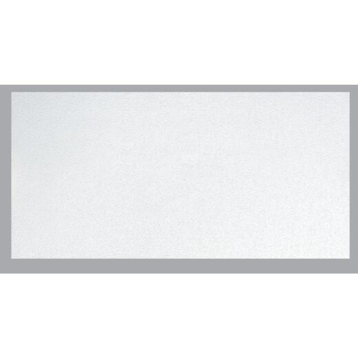 BP LifeStyle Fissured 2 Ft. x 4 Ft. White Wood Fiber Suspended Ceiling Tile (8-Count)
