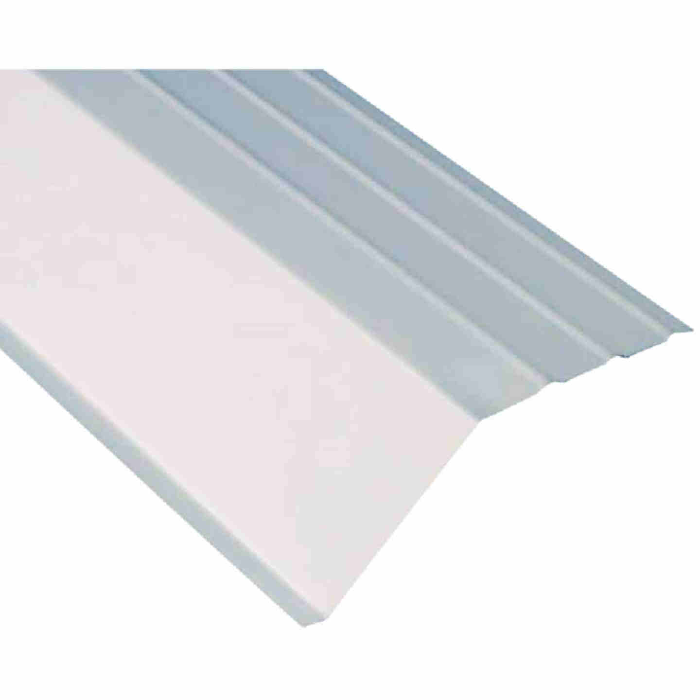 Amerimax 5 In. Galvanized Steel Roof Apron Flashing, White Image 1