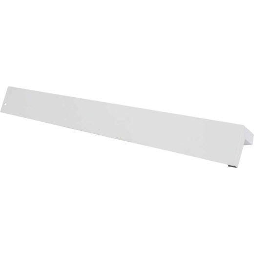 Amerimax 3/8 In. x 12 In. White Aluminum Smooth Siding Corner