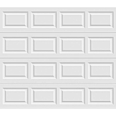 Holmes Gold Series 9 Ft. W x 7 Ft. H White Insulated Steel Garage Door w/Extension Springs
