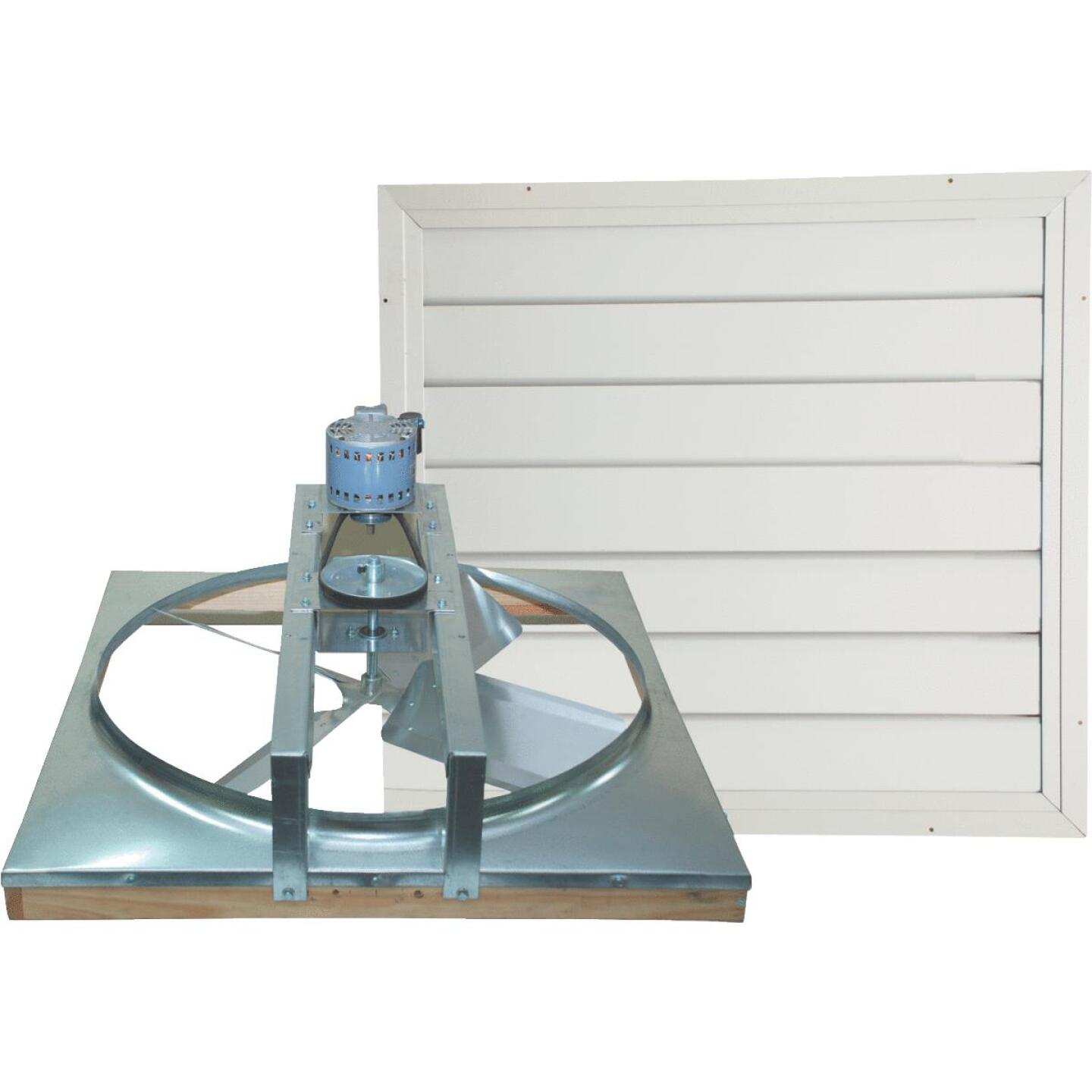 """Ventamatic Cool Attic 24"""" Belt Drive Up to 1800 sq ft Whole House Fan Image 1"""