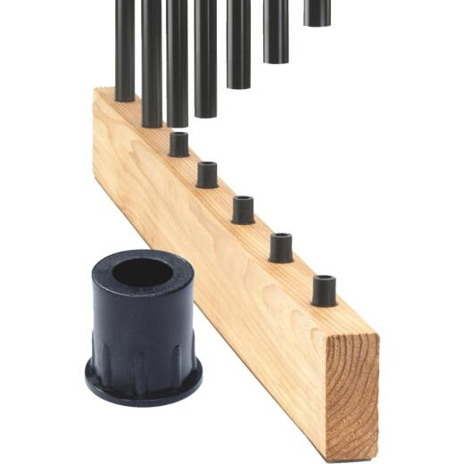 Deckorators Black Plastic Classic Baluster Connector (20-Pack)