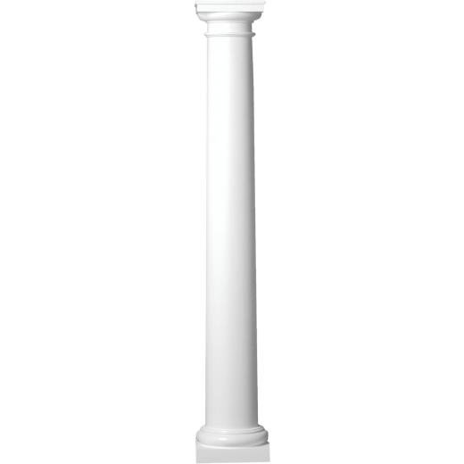 Crown Column 10 In. x 8 Ft. Unfinished Round Fiberglass Column
