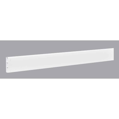 Outdoor Essentials 2 In. x 6 In. x 96 In. White Vinyl Fence Rail