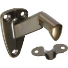 National Gallery Series Antique Bronze Handrail Bracket Image 1