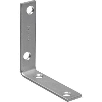 National Catalog 115 2-1/2 In. x 5/8 In. Zinc Corner Brace