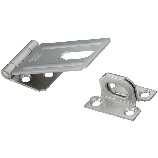 National 3-1/4 In. Stainless Steel Safety Hasp