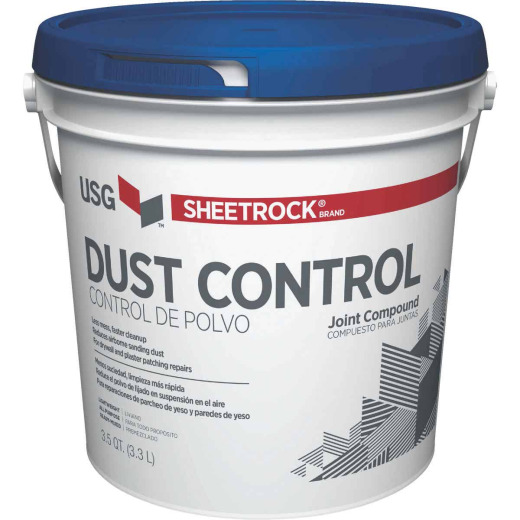 Sheetrock 3.5 Qt. Pre-Mixed Lightweight All-Purpose Dust Control Drywall Joint Compound