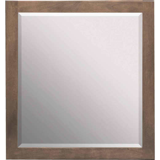 Bertch Bear Creek Driftwood 28 In. W x 30 In. H Vanity Mirror