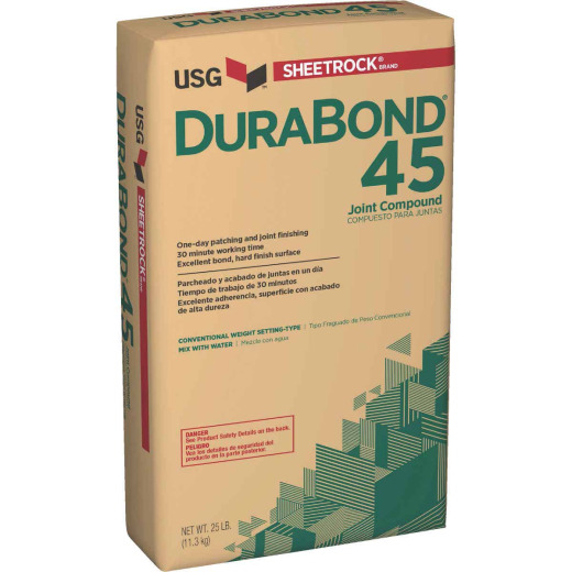 Sheetrock Durabond 45 Setting Type 25 Lb. Drywall Joint Compound