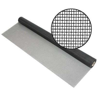 Phifer 60 In. x 100 Ft. Charcoal Fiberglass Mesh Screen Cloth