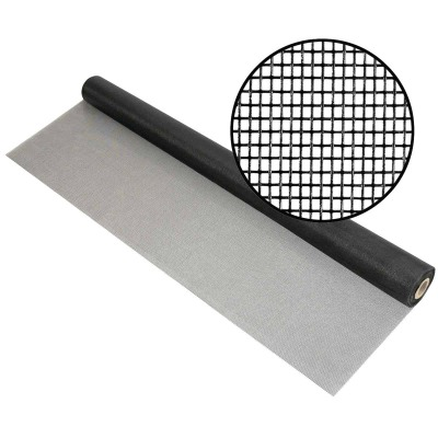 Phifer 72 In. x 100 Ft. Charcoal Fiberglass Mesh Screen Cloth