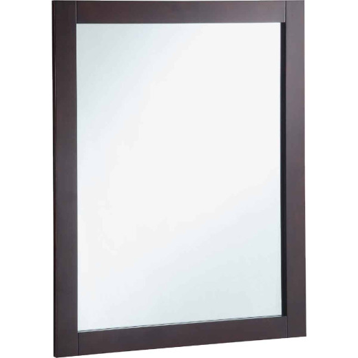 Design House Shorewood Espresso 24 In. W x 30 In. H Vanity Mirror