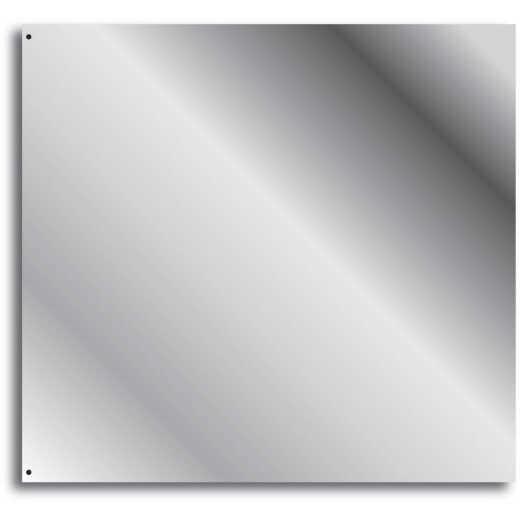 Broan-Nutone 24 In. x 30 In. Stainless Steel Backsplash Panel, Silver