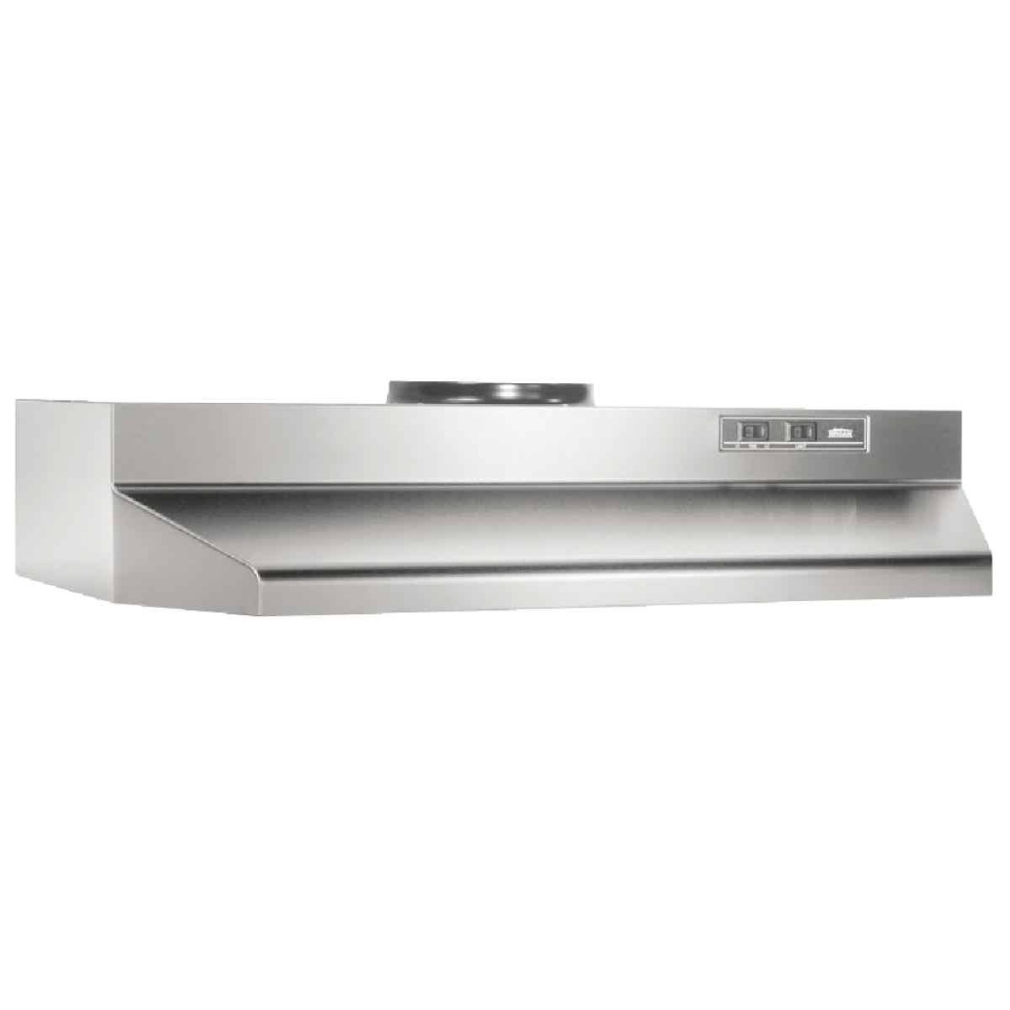 Broan-Nutone F Series 30 In. Convertible Stainless Steel Range Hood Image 1