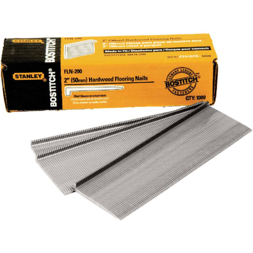 Bostitch 16-Gauge Coated L-Head Flooring Nail, 2 In. (1000 Ct.)