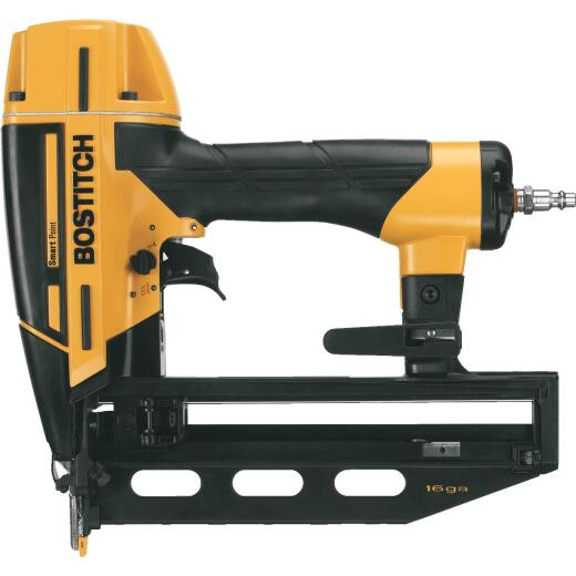 Bostitch Smart Point 16-Gauge 2-1/2 In. Straight Finish Nailer Kit