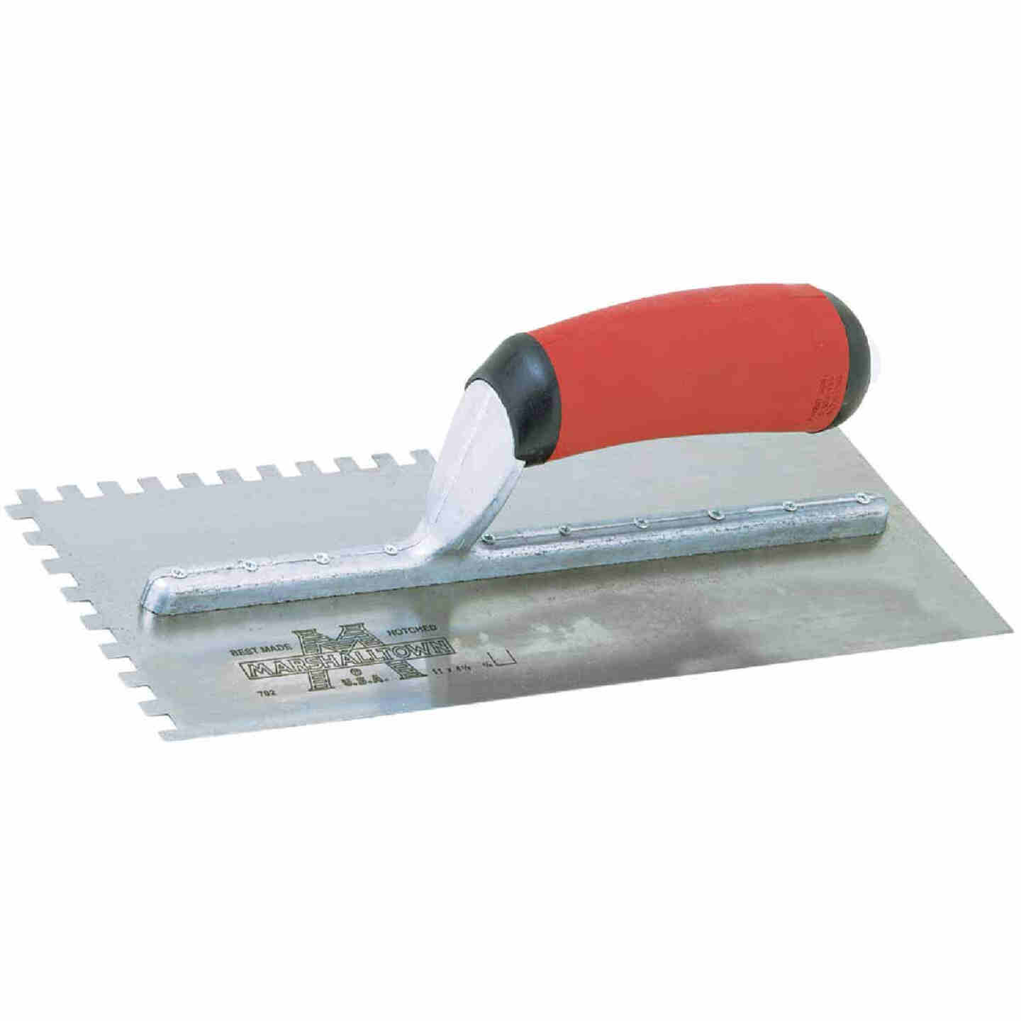 Marshalltown 1/4 In. Square Notched Trowel Image 1