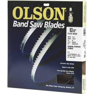 Olson 93-1/2 In. x 1/2 In. 3 TPI Hook Flex Back Band Saw Blade