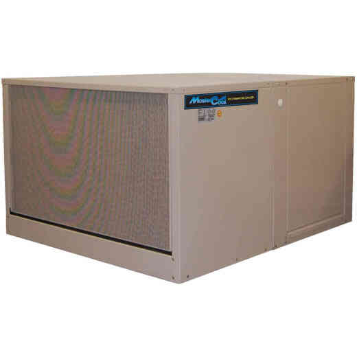 MasterCool 3212 to 7000 CFM Down Discharge Single Inlet Evaporative Cooler, 1700-2300 Sq. Ft.
