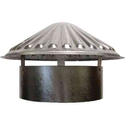 S & K Galvanized Steel 8 In. x 11 In. Vent Pipe Cap