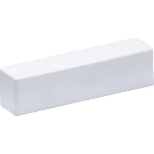 Mustee White Plastic Faucet Block