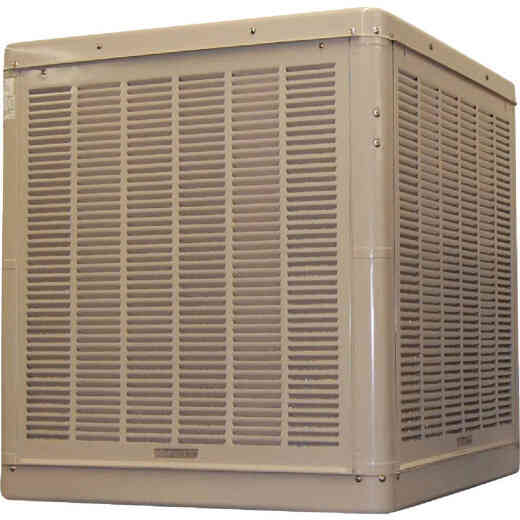 Essick 3300 to 6500 CFM Down Discharge Whole House Aspen Media Residential Evaporative Cooler, 1200-2400 Sq. Ft.