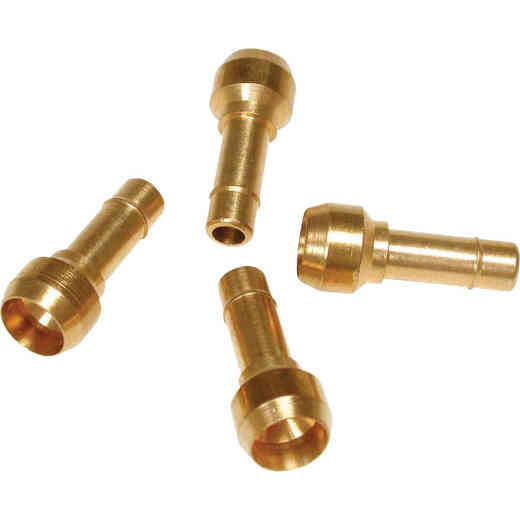 Dial 1/4 In. Poly Tube Barbed Adapter (4-Pack)