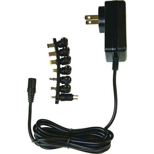 RCA Universal Black AC to DC Power Adapter
