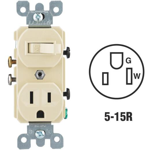 Do it Best Ivory 15A Switch & Outlet