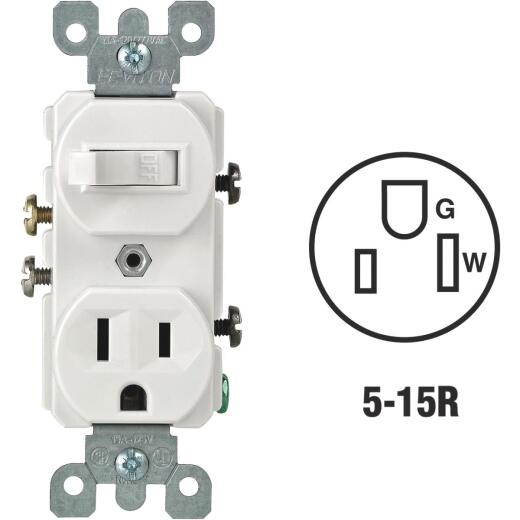 Do it Best White 15A Switch & Outlet