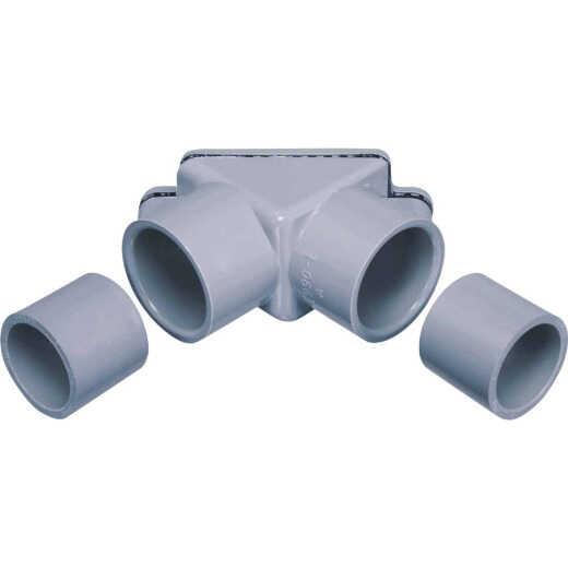 Carlon 1/2 In. to 3/4 In. 90 Deg PVC Pull Elbow