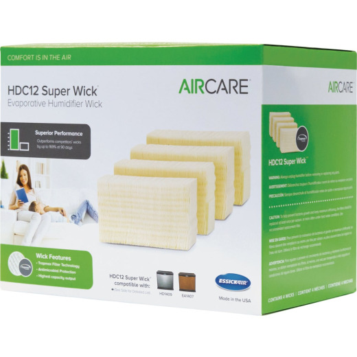 Essick Air HDC12 Humidifier Wick Filter (4-Pack)