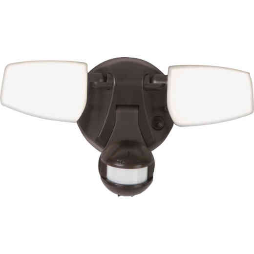 Halo Bronze Motion Activated Color Temperature Selectable LED Floodlight Fixture