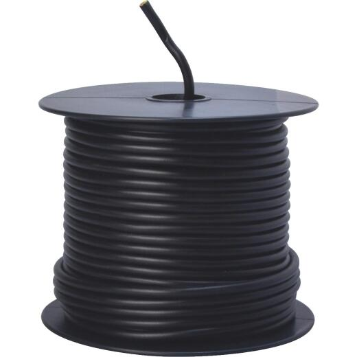 ROAD POWER 100 Ft. 12 Ga. PVC-Coated Primary Wire, Black