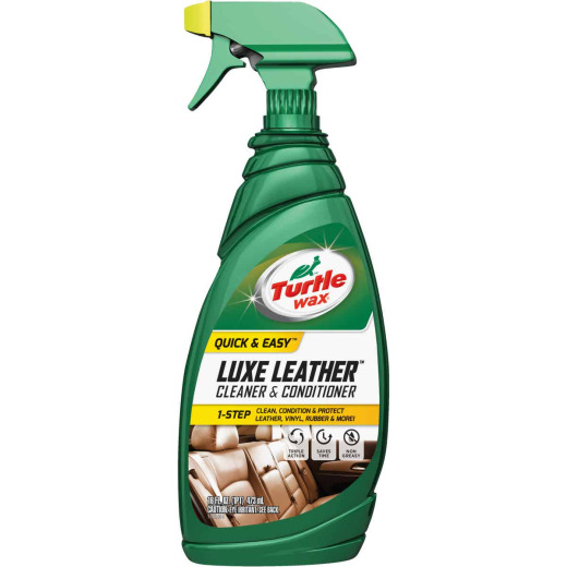 Turtle Wax Luxe Leather 16 oz Trigger Spray Leather Cleaner