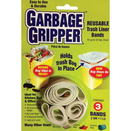 Garbage Gripper Garbage Bag Holder Band (3 Pack)