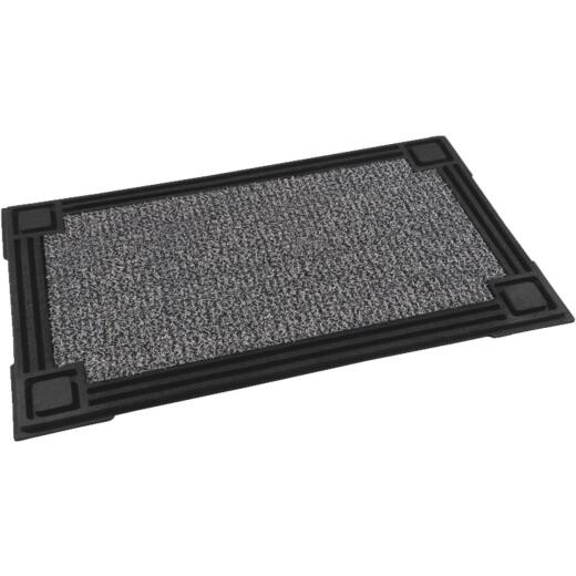 GrassWorx Clean Machine Premium Winters Gate 18 In. x 30 In. AstroTurf Door Mat