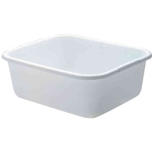 Rubbermaid 11-1/2 Qt. White Dishpan