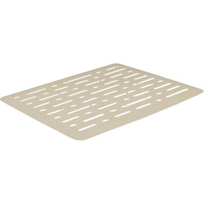 Rubbermaid 10.7 In. x 12.7 In. Bisque Sink Mat