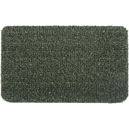 GrassWorx Clean Machine Classic Evergreen 17.5 In. x 29.5 In. AstroTurf Door Mat