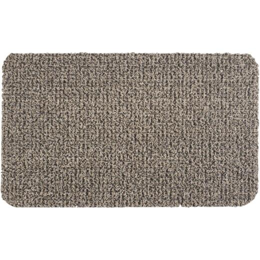 GrassWorx Clean Machine Classic Taupe 17.5 In. x 29.5 In. AstroTurf Door Mat