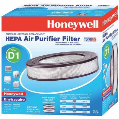 Honeywell Universal True Replacement HEPA Air Purifier Filter
