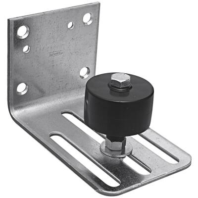 National Galvanized Up to 3-3/4 In. Steel Barn Door Stay Roller