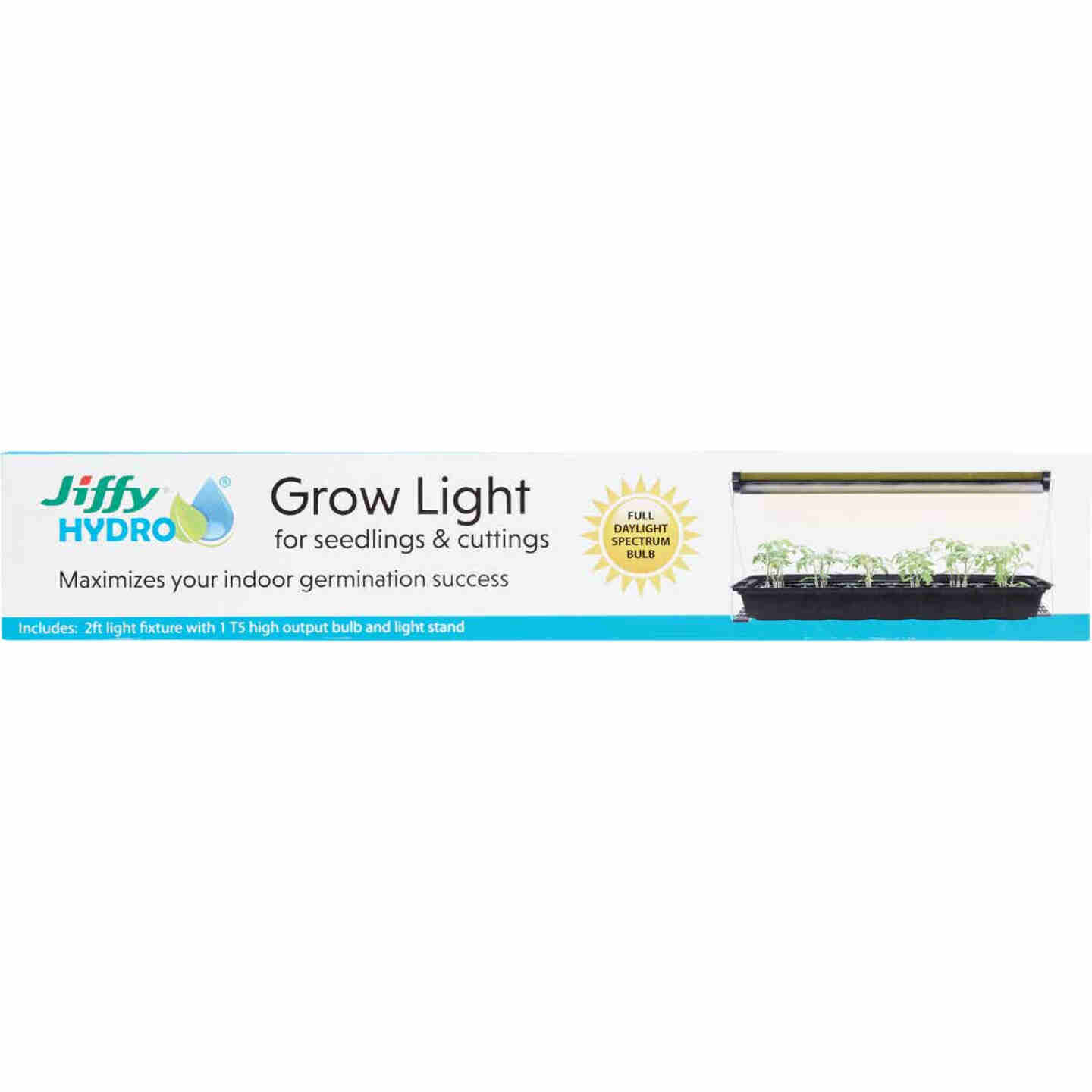 Jiffy 2 Ft. Silver 48W Fluorescent Plant Lamp Image 2