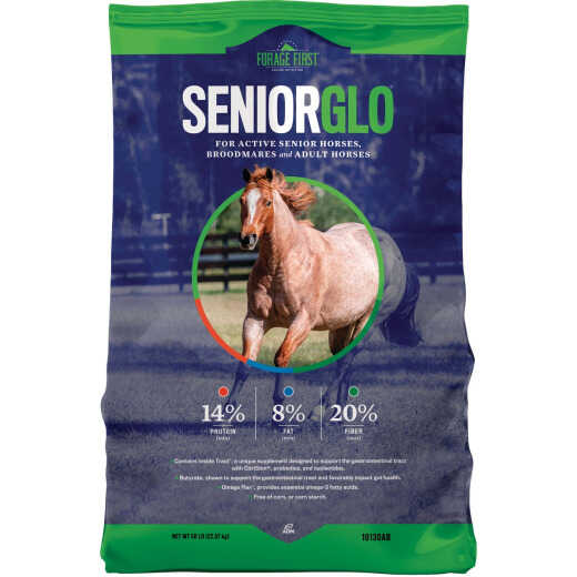 ADM SeniorGlo 50 Lb. Senior Horse Feed