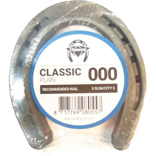 Diamond Classic Plain Front & Hind 4-1/2 In. Horseshoe (1-Pair)
