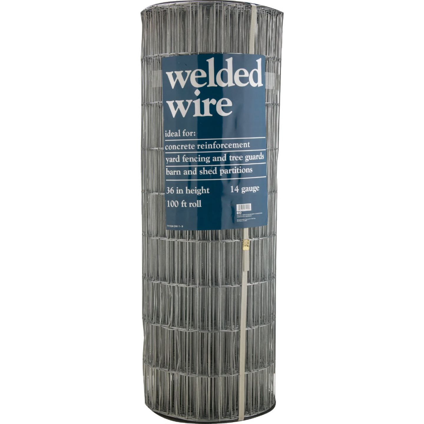 48 In. H. x 100 Ft. L. (2x4) Galvanized Welded Wire Fence Image 2